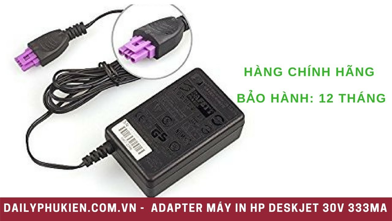 Adapter máy in HP Deskjet 3051A