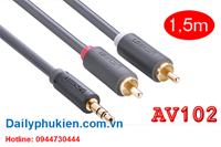 Dây audio 3.5mm sang RCA 1.5m