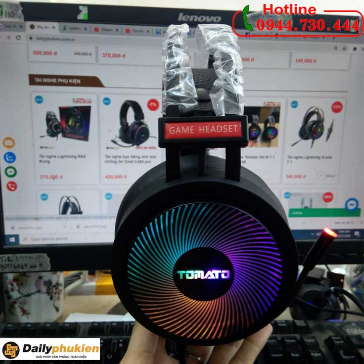 Tai nghe Tomato SK19 7.1 cổng USB