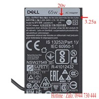 Sạc laptop Dell Latitude 11 5179  20v 65w