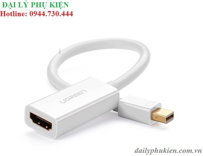 Cáp mini Displayport sang HDMI UGREEN 10460